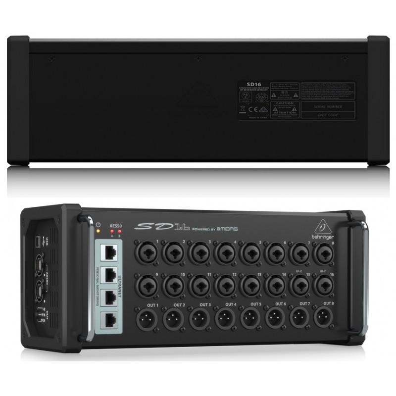 DI-BOX aktywny 8-kanałowy Behringer ULTRA-DI PRO DI800